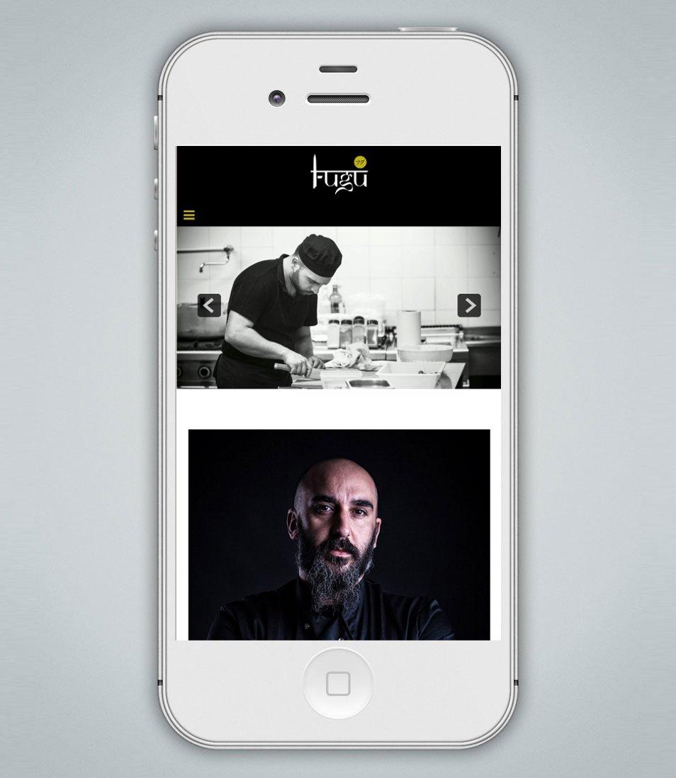 Sito internet Fugu Restaurant Lecce Responsive